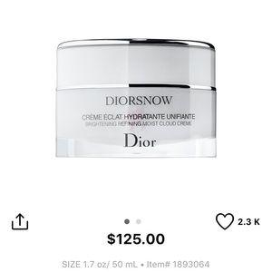 Dior cloud creme